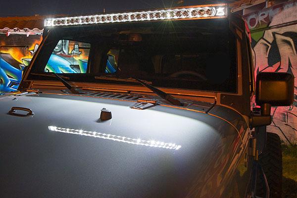 Barra led de 50 rigid light wrangler barra led de 50 rigid light wrangler aloadofball Images